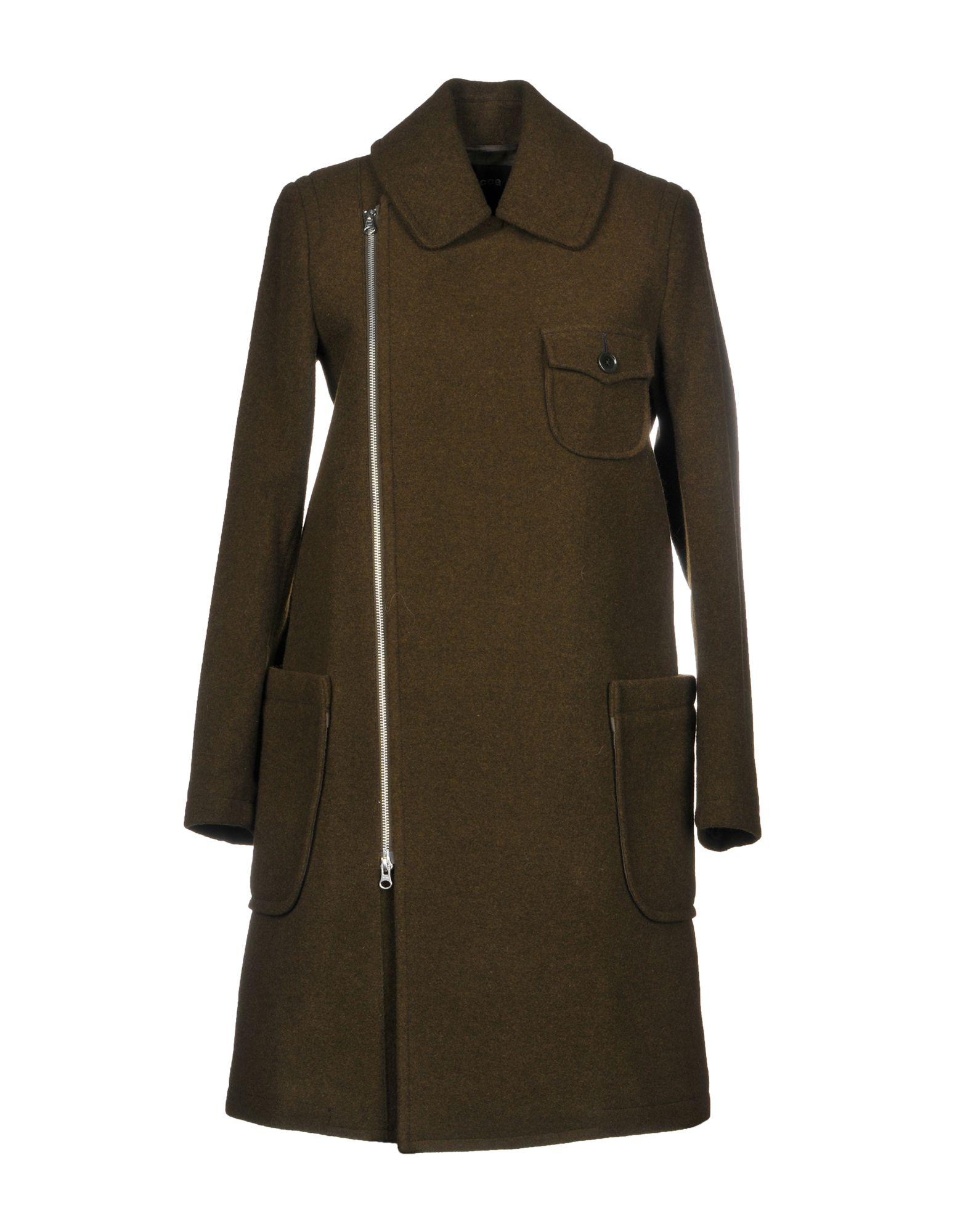 ZUCCA Пальто zucca пальто