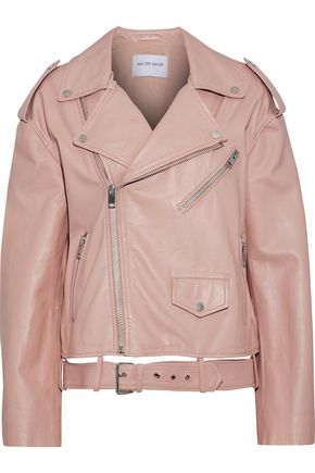 W118 by WALTER BAKER Hope leather biker jacket