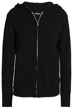 MONROW Jersey hooded jacket