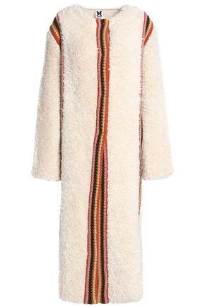 M MISSONI Crochet-trimmed faux fur jacket