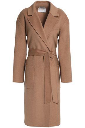 DAY BIRGER ET MIKKELSEN Belted wool-blend felt coat