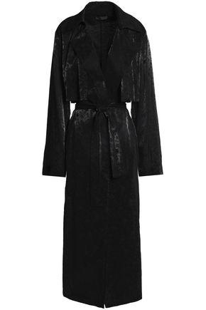 RTA Karina belted jacquard trench coat
