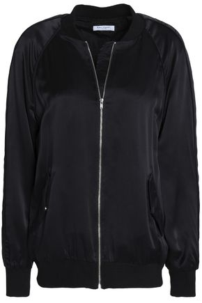 EQUIPMENT Silk bomber jacket