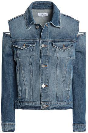 FRAME Cutout denim jacket