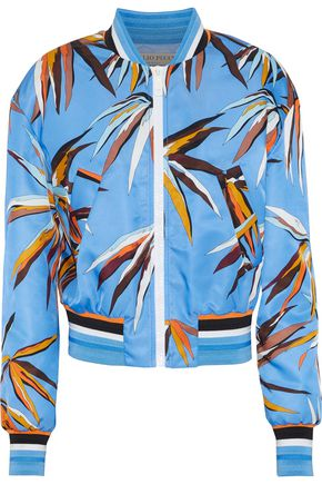 EMILIO PUCCI Printed shell bomber jacket