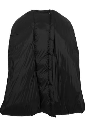 RICK OWENS Oversized shell down coat