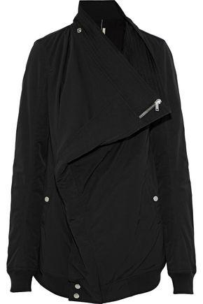 DRKSHDW by RICK OWENS Canvas-trimmed cotton-blend faille jacket