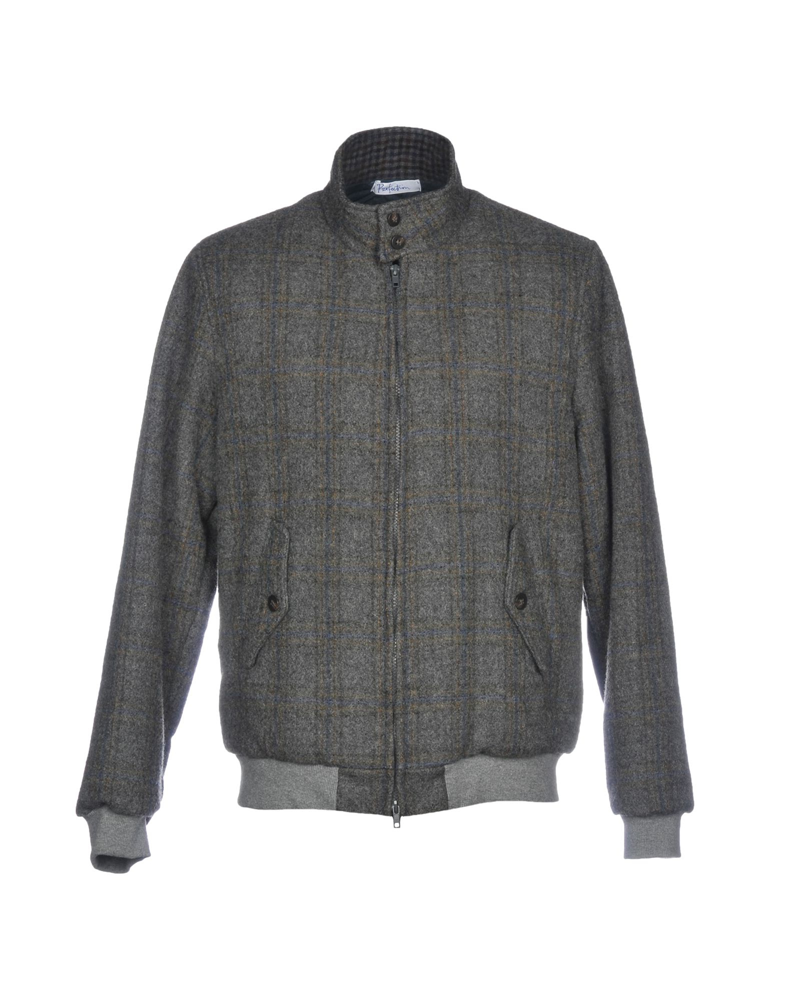 PERFECTION Bomber in Grey