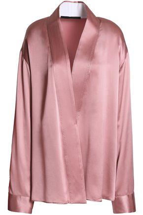 HAIDER ACKERMANN Crossover silk-satin jacket