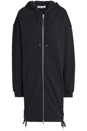 McQ Alexander McQueen Lace-up cotton hooded jacket