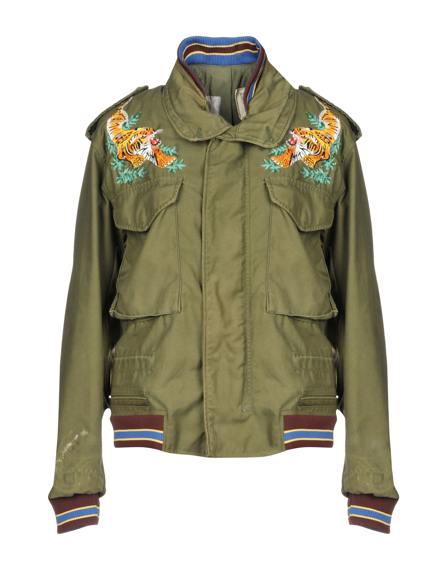 AS65 Bomber in Military Green