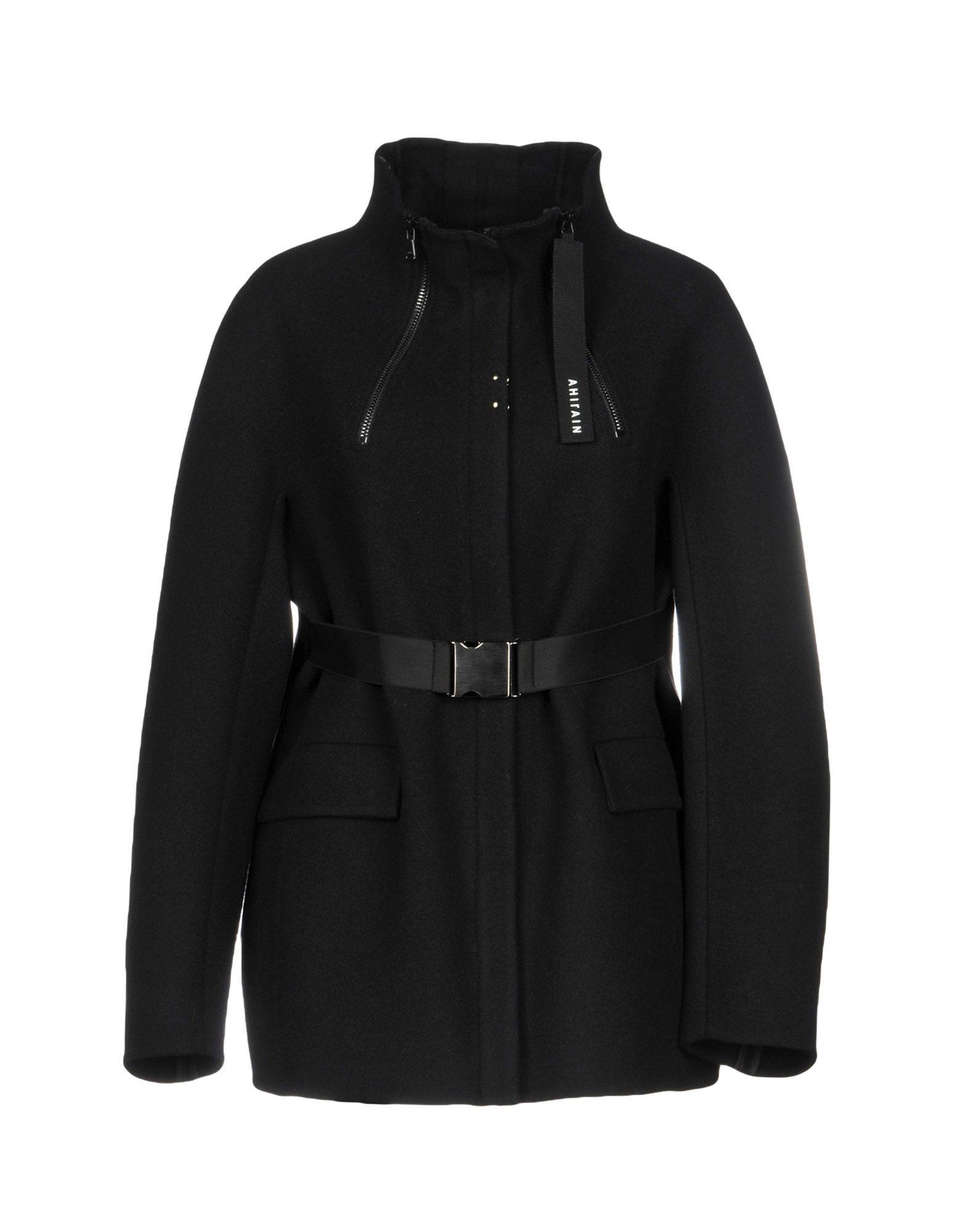 AHIRAIN Coat in Black