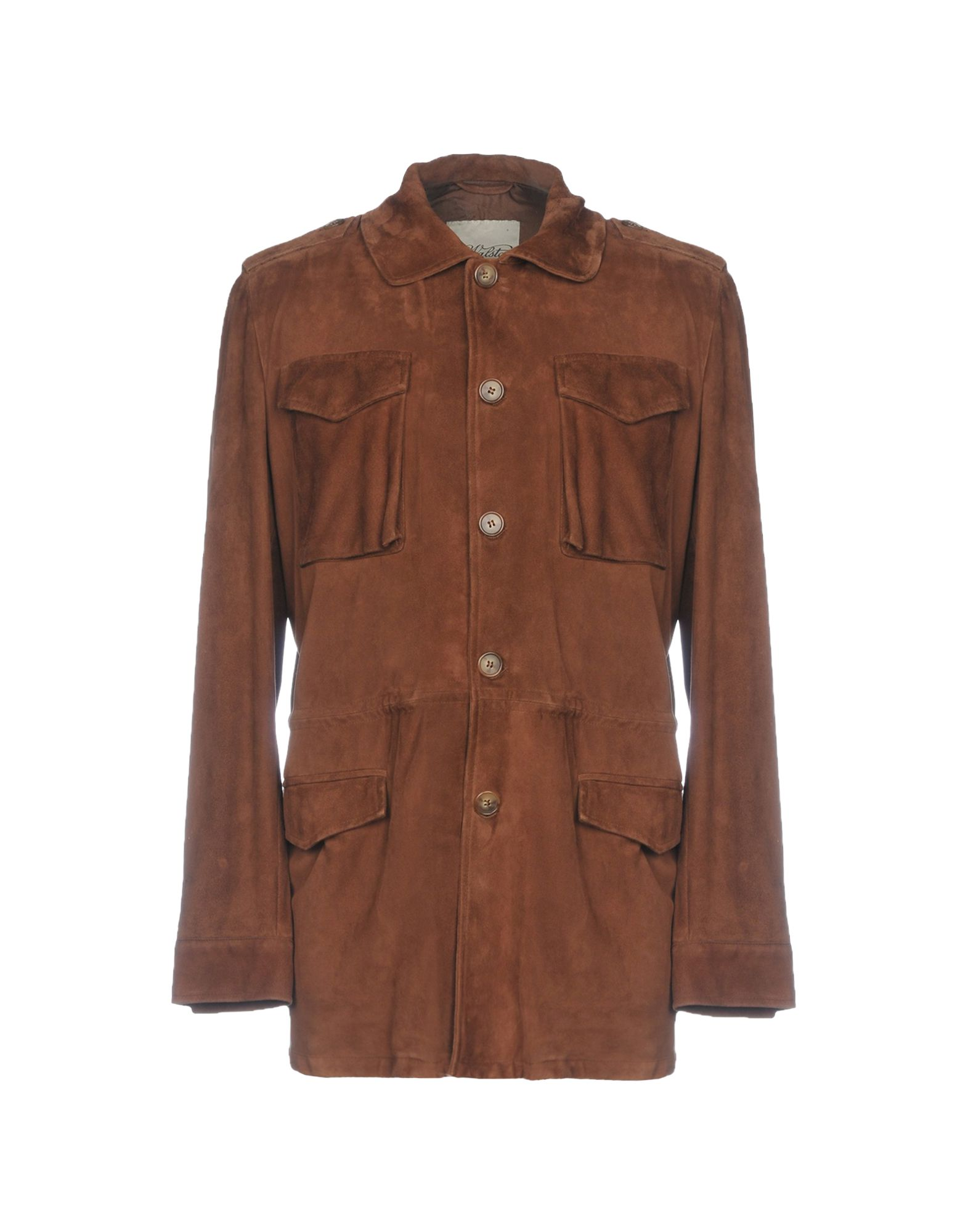 VALSTAR Leather Jacket in Cocoa