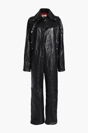 ACNE STUDIOS Leather jumpsuit