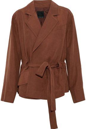 MARISSA WEBB Mavis Tencel and linen-blend jacket
