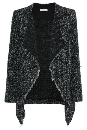 IRO Campi draped bouclé-knit jacket