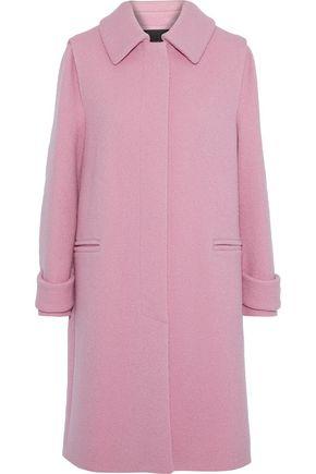 MAJE Brushed-wool coat
