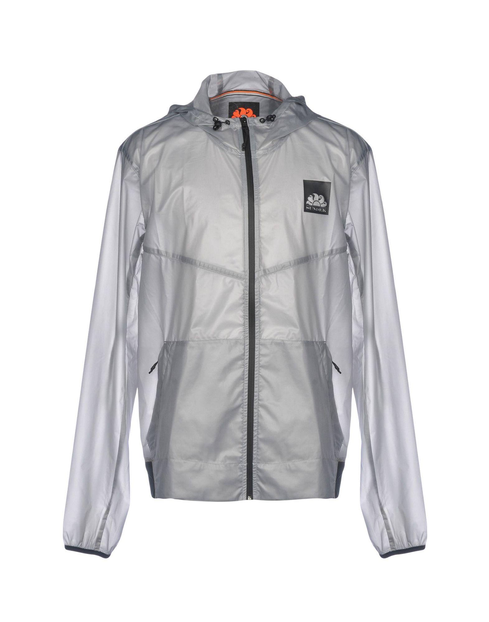 SUNDEK Jacket in Light Grey