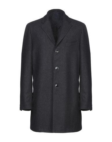 Купить Легкое пальто от J.W. SAX  Milano темно-синего цвета