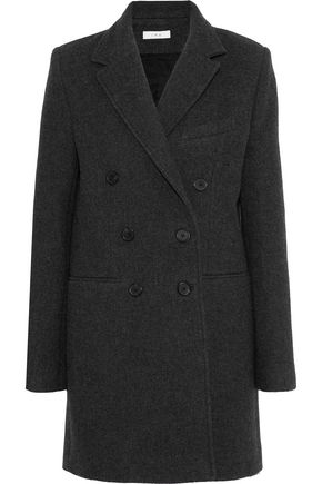 IRO Kascko double-breasted wool-blend twill coat