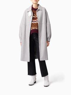 Manteau de ville en laine