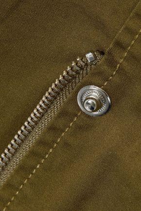 MARISSA WEBB Belted cotton-blend jacket