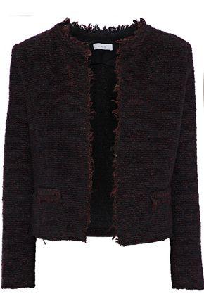IRO Coffey frayed bouclé-tweed jacket