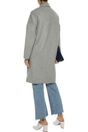 MAJE Grima wool-blend felt coat