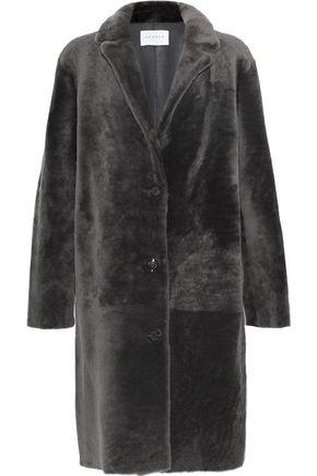 SANDRO Shearling coat