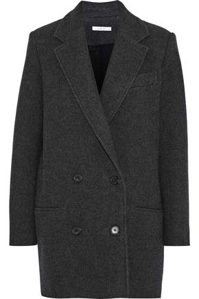 IRO Kalso double-breasted wool-blend twill coat