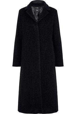 MAJE Greaty wool-blend coat