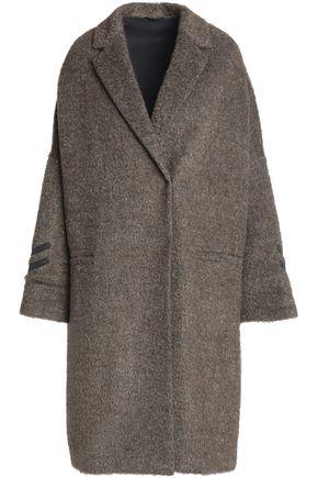 BRUNELLO CUCINELLI Oversized bead-embellished bouclé coat