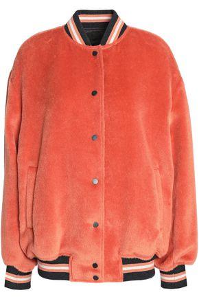 BRUNELLO CUCINELLI Cashmere-felt bomber jacket