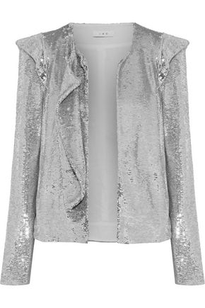 IRO Waklyn sequined woven jacket