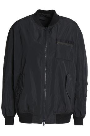 BRUNELLO CUCINELLI Bead-embellished shell bomber jacket