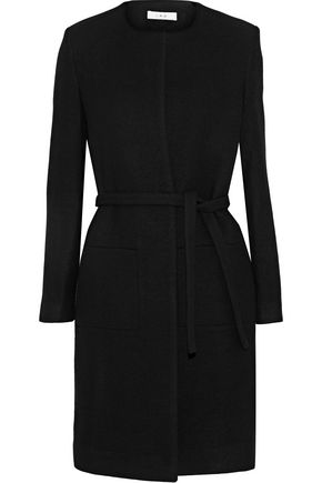 Kila Brushed Wool Blend Twill Coat by Iro