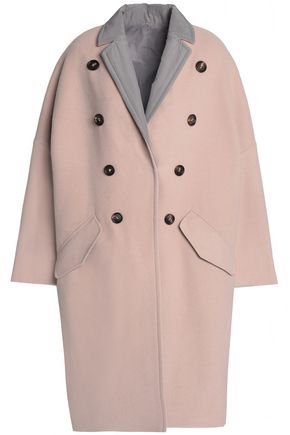 BRUNELLO CUCINELLI Reversible button-embellished cashmere coat