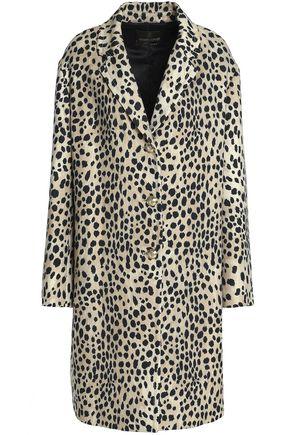 ROBERTO CAVALLI Wool-twill coat