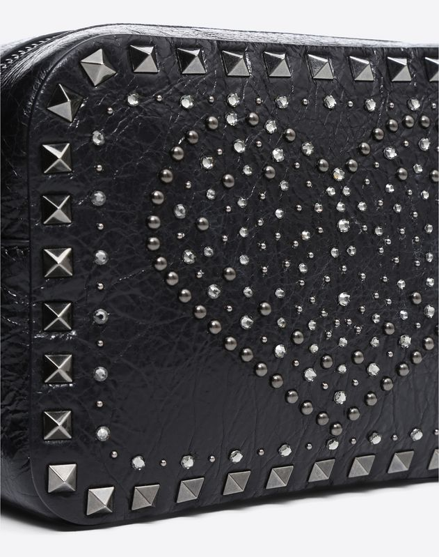 Punk Heart Rockstud Camera Bag