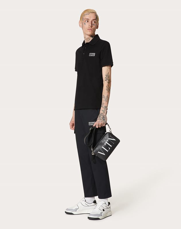 LEATHER VLTN CROSSBODY BAG