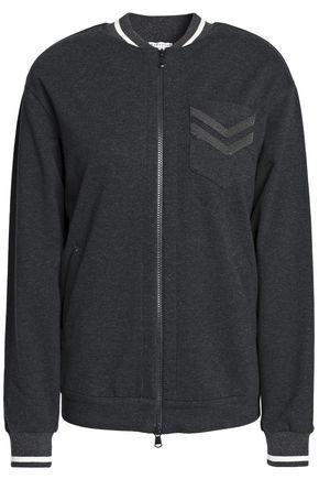 BRUNELLO CUCINELLI Bead-embellished cotton-blend bomber jacket