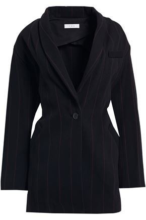 IRO Delson pinstriped wool-blend twill blazer