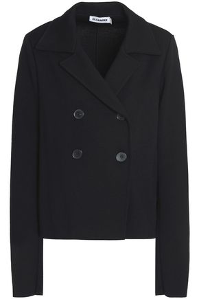 JIL SANDER Double-breasted wool jacket
