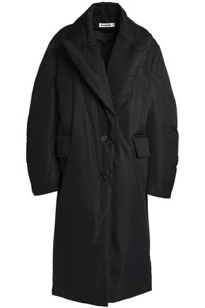 JIL SANDER Oversized shell down coat