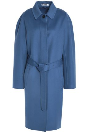 JIL SANDER Wool and cashmere-blend felt coat