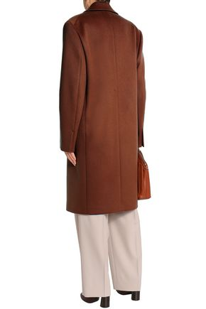 JIL SANDER Double-breasted wool and cashmere-blend coat