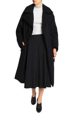JIL SANDER Double-breasted wool-felt coat