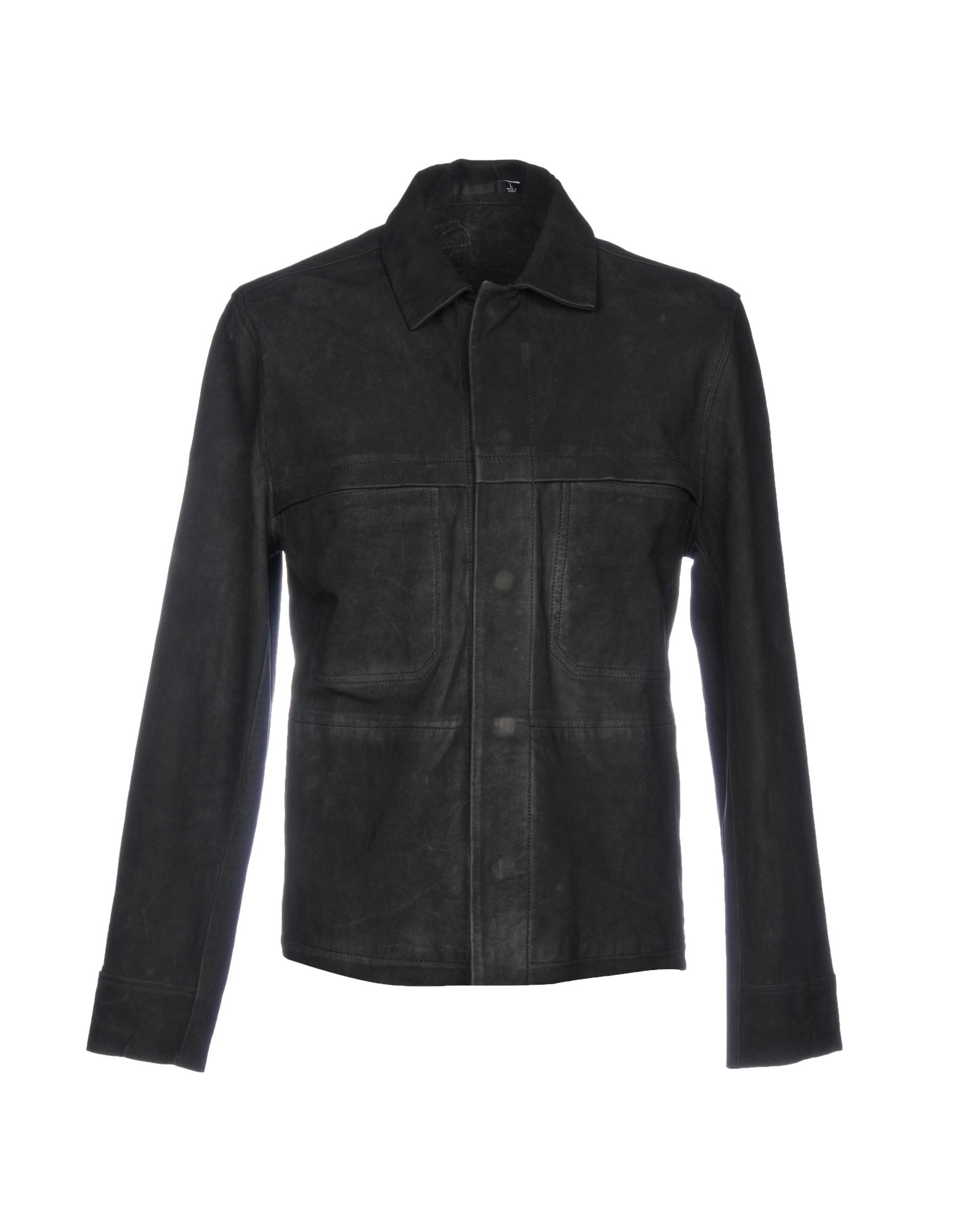 BLK DNM Leather Jacket in Black