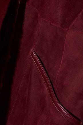 YVES SALOMON Reversible felt-paneled shearling coat