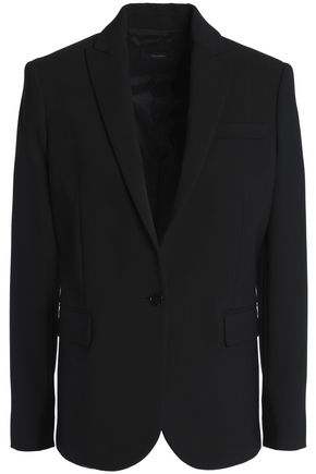 JOSEPH Wool-blend crepe blazer